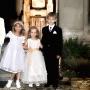 dzieci na chrzcie